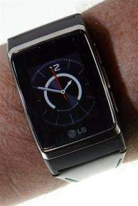 An LG Electronics phone-watch
