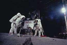 Apollo moon rocks lost in space? No, lost on Earth (AP)