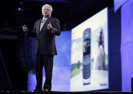 BlackBerry maker joins the fray with app store (AP)