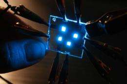 Blue light specials: New materials boost efficiency of blue OLEDs ...