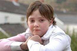 British girl's heart heals itself after transplant (AP)