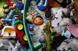 Canada proposes six chemicals ban in toys, new lead limits
