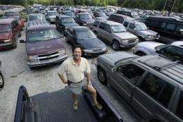 `Cash for clunkers' effect on pollution? A blip (AP)