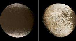 Cassini closes in on the centuries-old mystery of Saturn's moon Iapetus