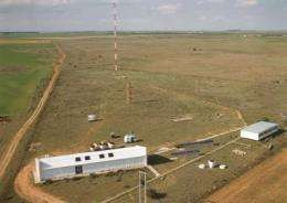 CO2 levels rising in troposphere over rural areas