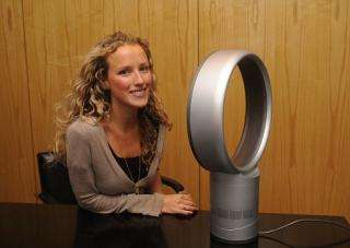 Dyson Unveils His Bladeless Fan