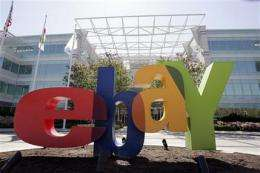 Economy keeps hurting eBay as 2Q profit falls (AP)