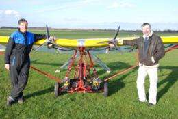 Electric aircraft take to the air