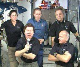 Expedition 20 Prepares for Departure