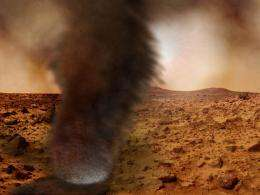 First direct evidence of lightning on Mars detected