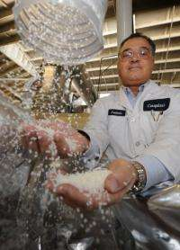 Frederic Scheer, head of the plastics manufacturer Cereplast