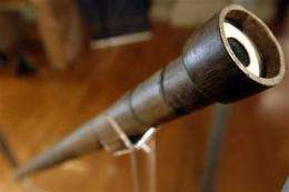 Galileo's telescope on historic visit to Philly (AP)