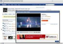 Google, MySpace, Facebook make music moves (AP)
