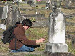 Gravestones Talking through Time