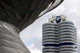 Headquarters of German luxury car maker BMW in Munich