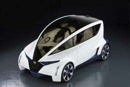 Honda's 'Personal-Neo Urban Transport' Concept