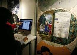 Humanity's earliest written works go online (AP)