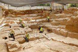 Israeli archaeologists discover ancient quarry (AP)
