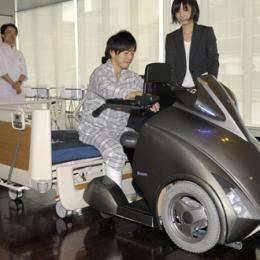 Japan robotics experts unveil sci-fi wheelchair
