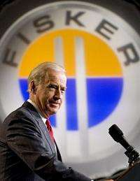 Joe Biden speaks at the former GM Boxwood Plant in Wilmington