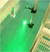 Lasers generate underwater sound