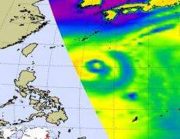 Luzon expecting a Lupit landfall