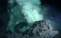 Marine scientists return from expedition to erupting undersea volcano