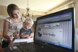 Mom blogs dole out advice -- with corporate backing (AP)