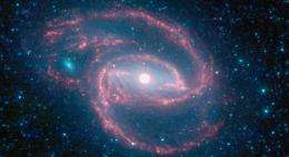 NASA's Spitzer Images Out-of-This-World Galaxy