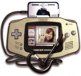 "Nintendo's portable game console ""Game Boy Advance"" (released in 2003)"