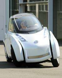 """Nissan's new concept vehicle, the """"Land Glider"""""""