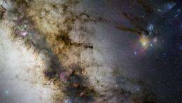 Zooming to the centre of the Milky Way -- GigaGalaxy Zoom phase 2