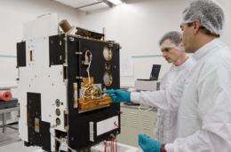 Proba-2's journey to Russia marks its first step towards space