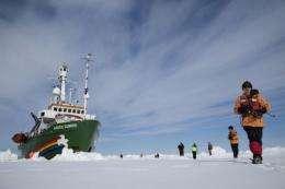 Setting sail with Greenpeace