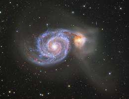 Studying how black holes grow