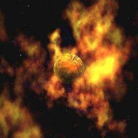 Swift, Fermi probe fireworks from a flaring gamma-ray star