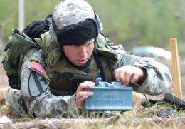 System developed to detect plastic anti-personnel mines