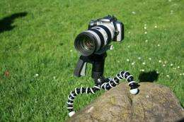 The Gorillapod SLR-Zoom flexible tripod
