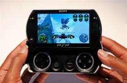 The new PSP Go