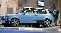 "The new ""Trabant nT"" electric car"