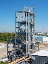 Toshiba to complete construction of carbon capture pilot plant