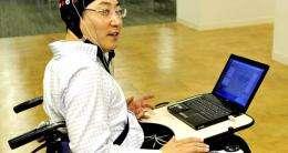 Toyota technology has brain waves move wheelchair