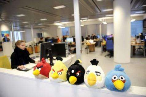 """""""Angry Birds"""" mobile phone game has become a matter of national pride in Finland"""
