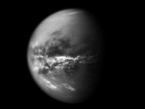 Cassini sees seasonal methane rains transform Titan's surface