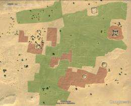 Castles in the desert - satellites reveal lost cities of Libya