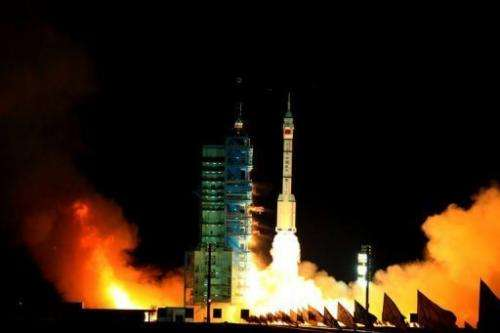 China said it successfully launched the unmanned spacecraft on Tuesday
