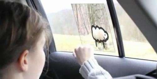Toyota demos 'Window to the World' vehicle back seat smart window technology