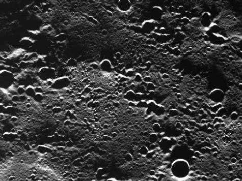 First Mercury images in orbit show lots of craters