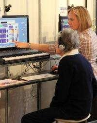 Helping deaf people to enjoy music again