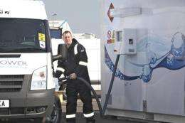 Hydrogen fuel put to the test